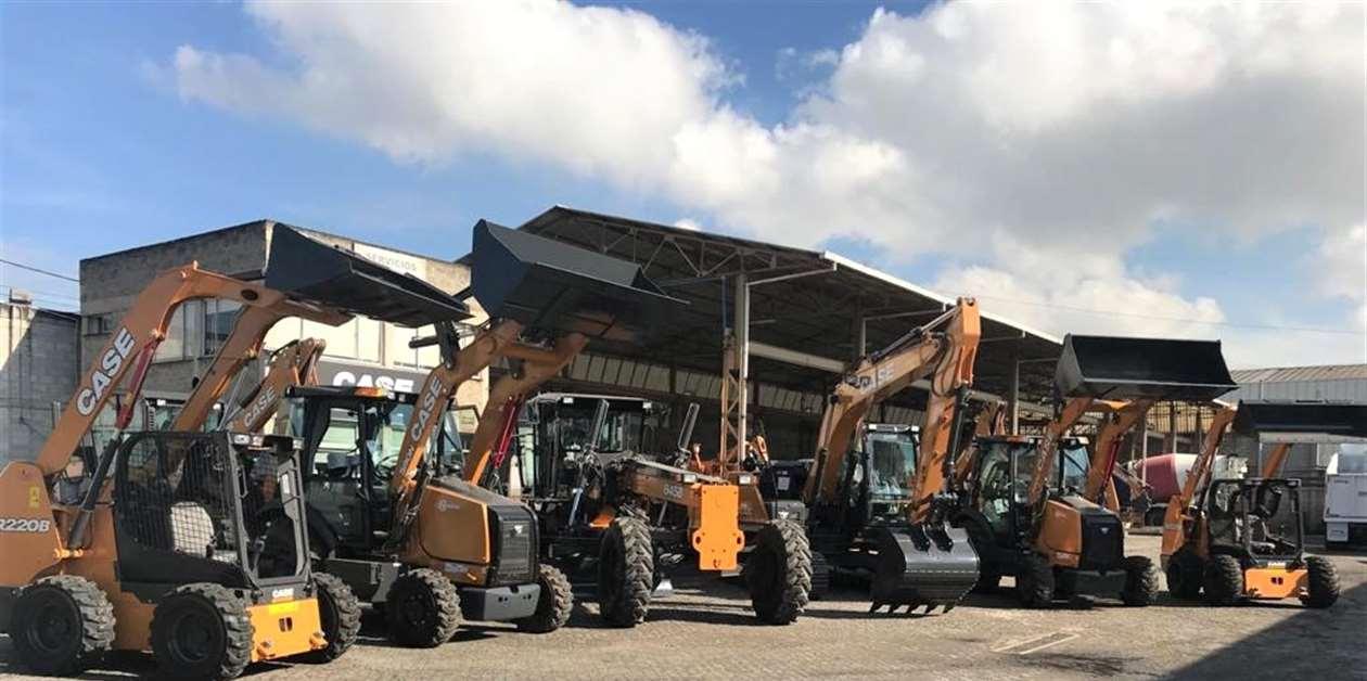 CASE CE entrega flota en Colombia - Construcción LatinoAmericana