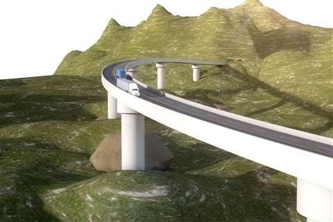 Varios son los proyectos viales que tiene Perú para la década. El más destacado sin duda es la Nueva Carretera Central que tiene 136 kilómetros y decenas de puentes y túneles.